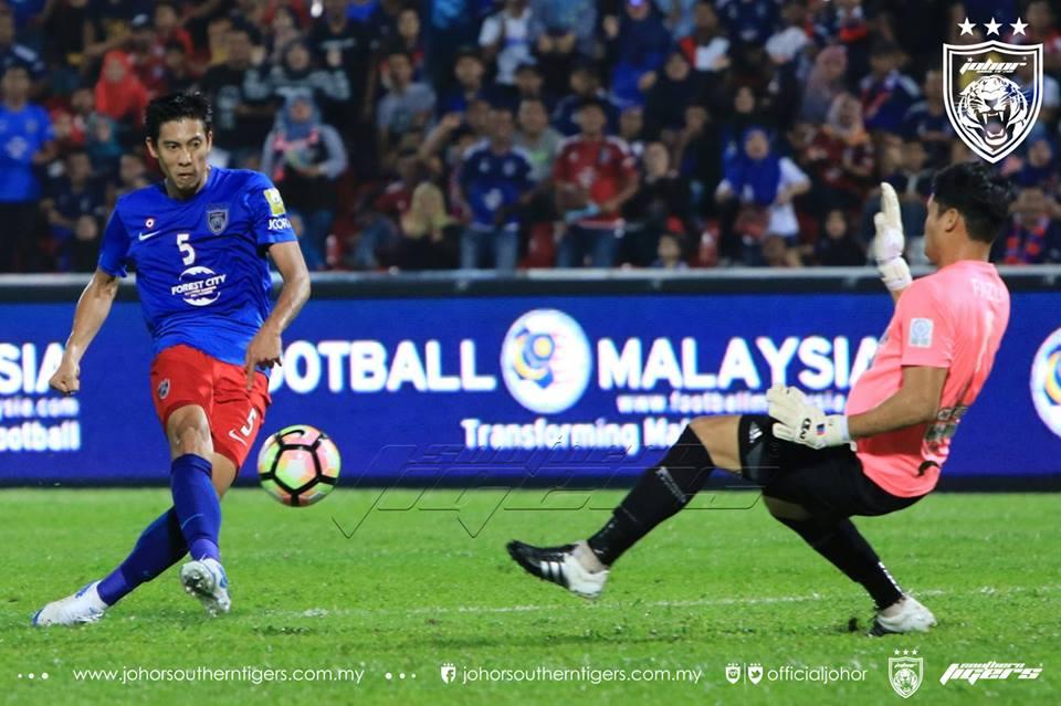 JDT tewaskan Melaka United yol