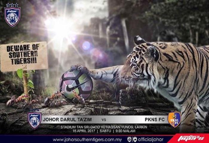 Preview Liga Super 2017: JDT Menanti, PKNS FC Memburu