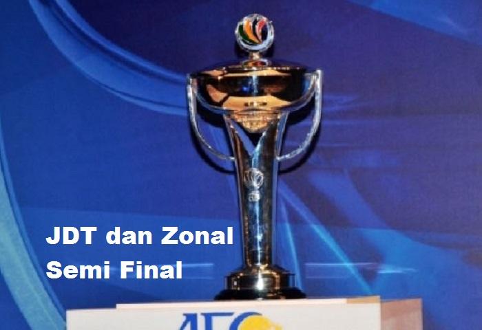 Piala AFC 2017: Apakah Peluang JDT Untuk Ke Zonal Semi Final?