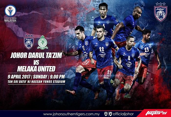 Previu JDT Vs Melaka United