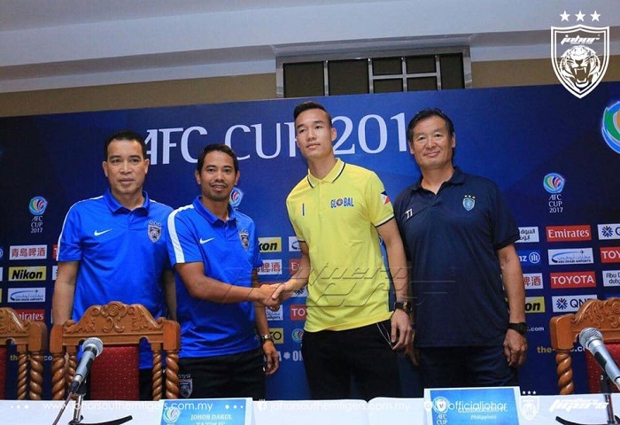 Piala AFC 2017: Previu Global FC Vs JDT