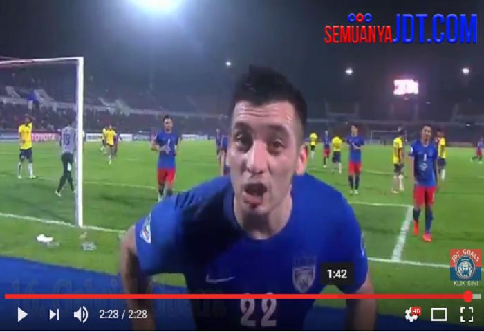 Video: Kesemua 16 Gol JDT Di Piala AFC 2017 Peringkat Kumpulan