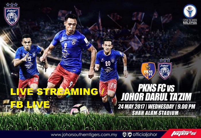 Liga Super 2017: PKNS FC Vs JDT Live Streaming