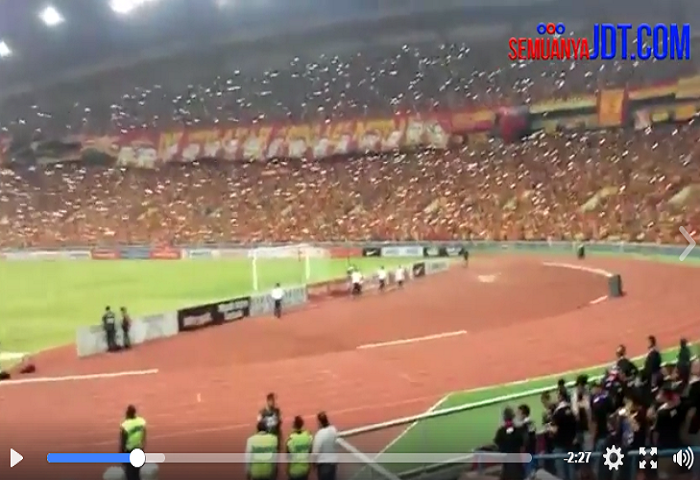 Video: Suasana Penyokong Di Stadium Shah Alam Tiga Tahun Lepas