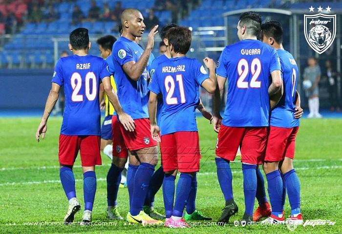 Piala AFC 2017: Hatrik Guerra Membolehkan JDT Melangkah Ke Zonal Semi Final
