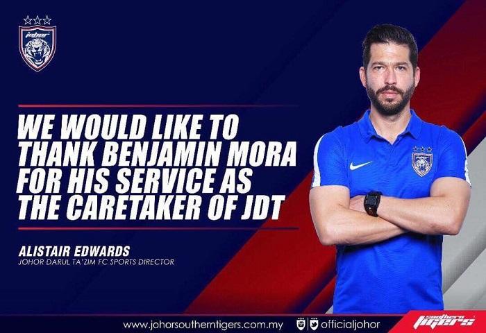 Benjamin Mora Turun JDT2