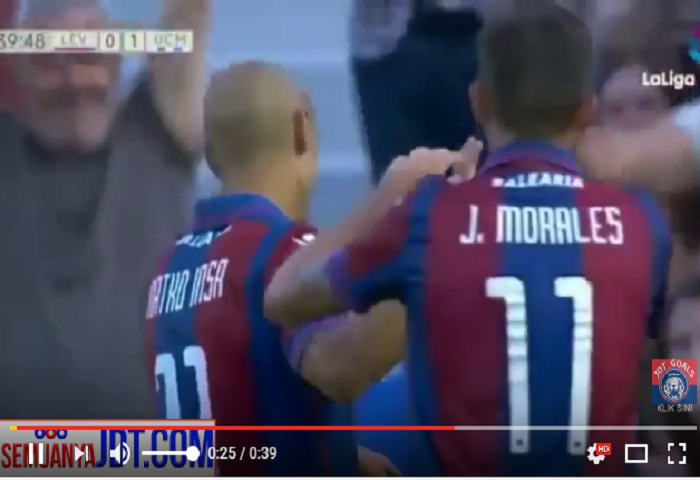 Video: Natxo Insa Di Levante UD, Guard Of Honour, Penampilan Dan Gol Terakhir