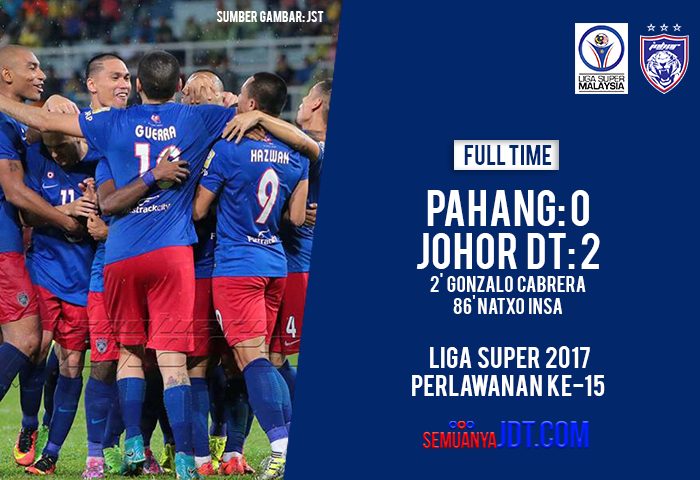 HF FT Liga Super Cover Pahang Home