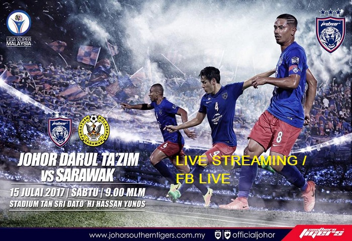 Liga Super 2017: JDT Vs Sarawak Live Streaming