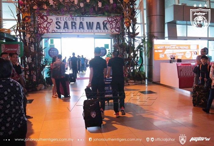 JDT Ke Sarawak