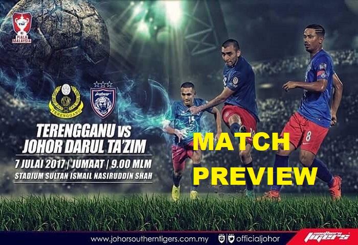 Preview Piala Malaysia 2017: JDT 'B' Pertaruhan Morais Menentang Terengganu