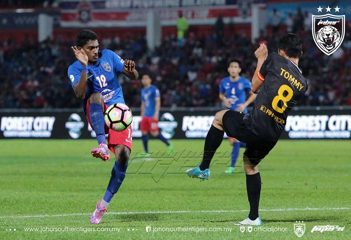 Piala Malaysia 2017 JDT Vs Sarawak Gambar Depan