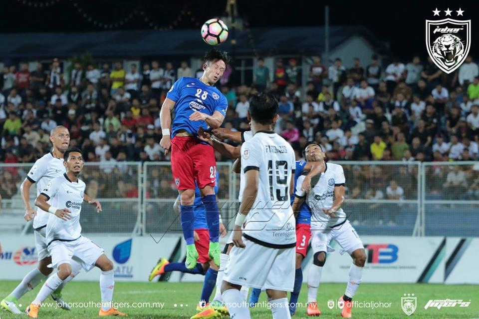 Piala Malaysia 2017 Terengganu 0 JDT 0 darren