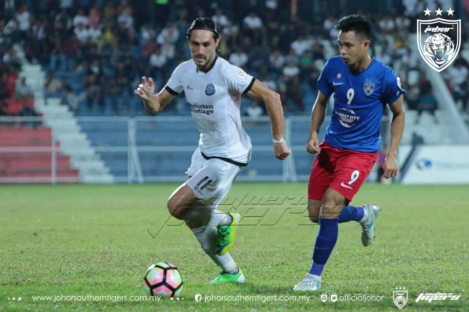 Piala Malaysia 2017 Terengganu 0 JDT 0 hazwan