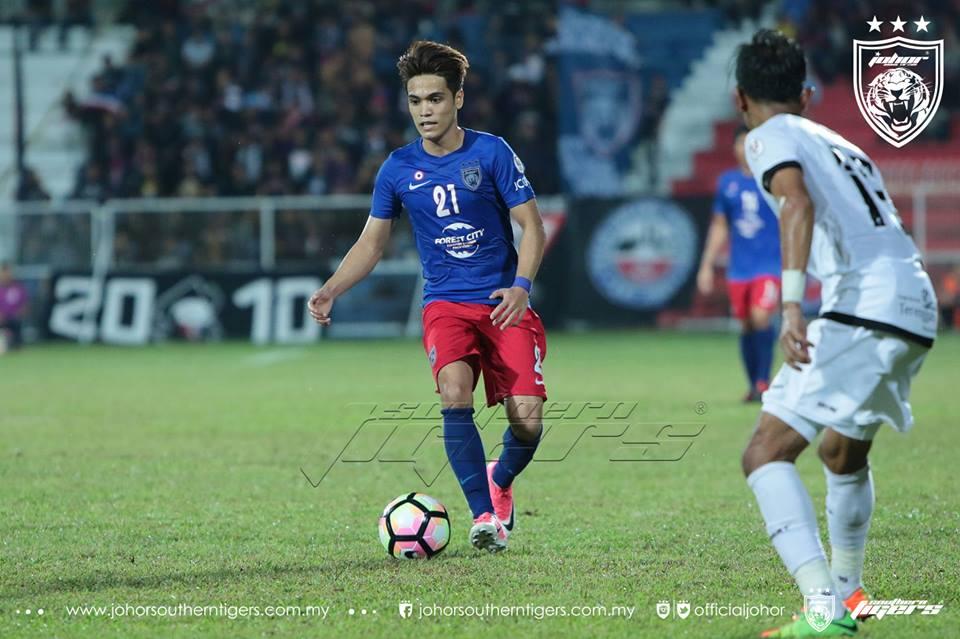 Piala Malaysia 2017 Terengganu 0 JDT 0 nazmi