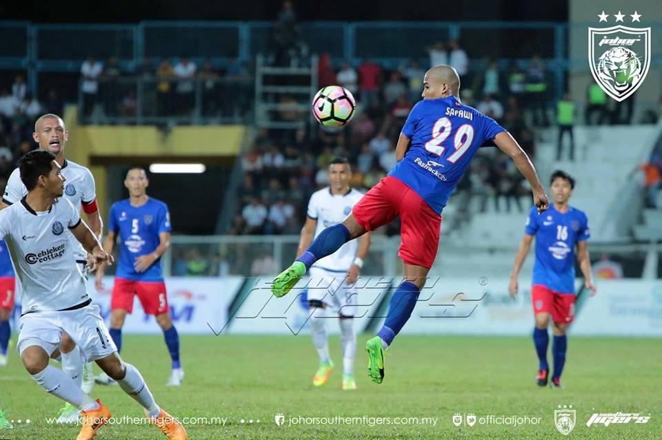 Piala Malaysia 2017 Terengganu 0 JDT 0 safawi