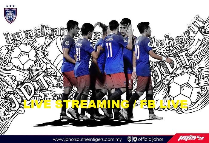 Piala Malaysia 2017: Terengganu VS JDT Live Streaming