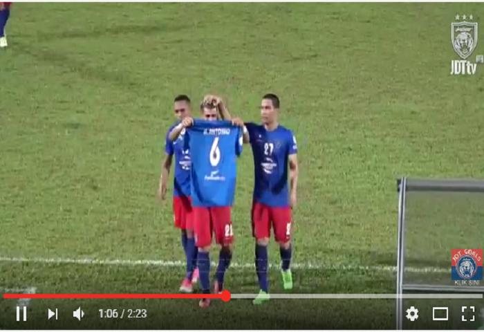 VIDEO RANGKUMAN Piala Malaysia 2017, Sarawak 0 Johor DT 2