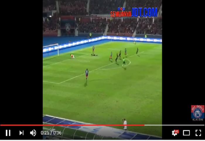 Gol Pertama Natxo Insa Bersama Jdt