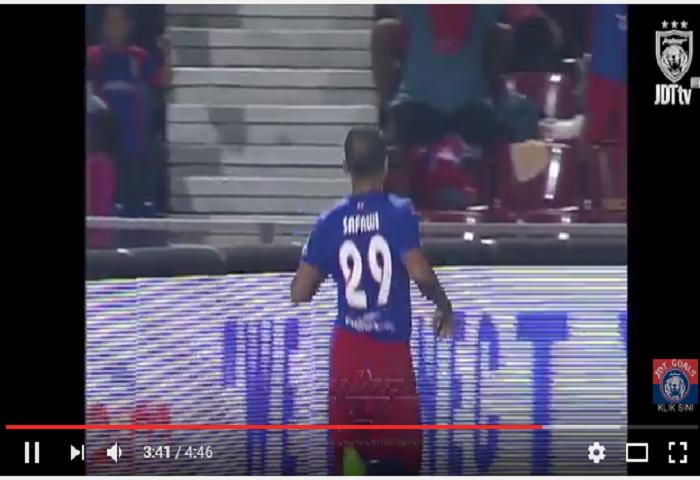VIDEO RANGKUMAN: Liga Super Ke-16, Johor DT 3 Sarawak 1