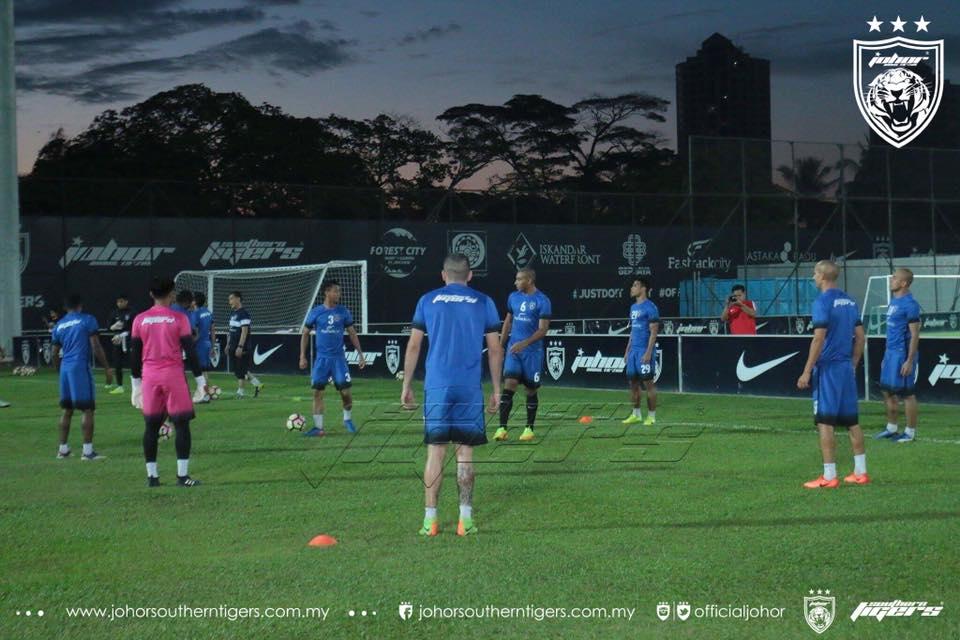 piala malaysia 2017 JDT semua pemain