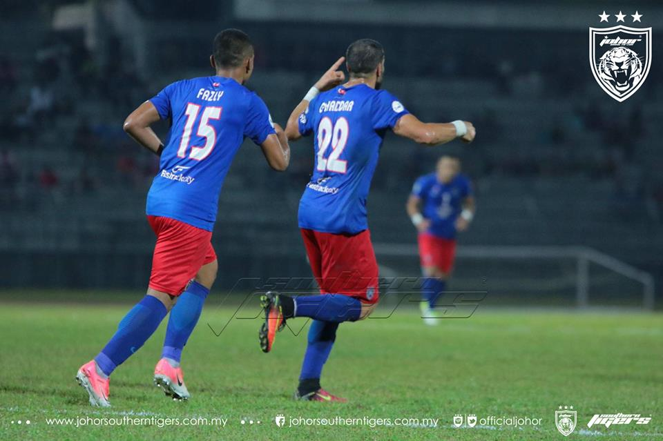 piala malaysia 2017 sarawak vs JDT ghaddar gol