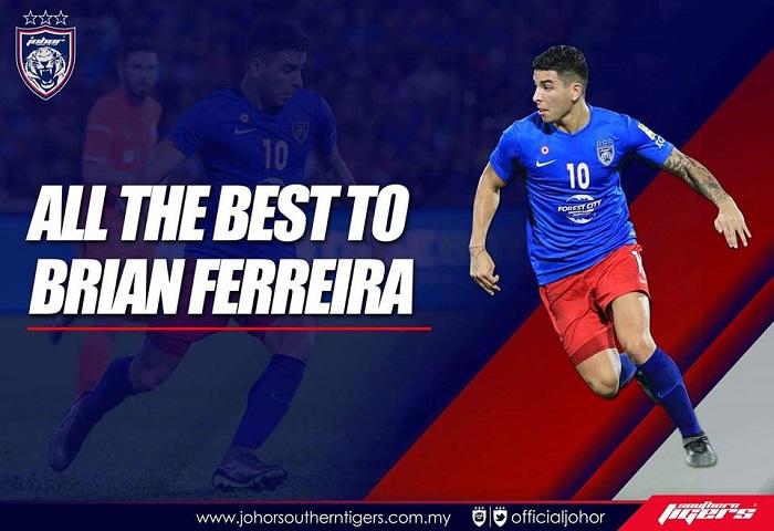 Selamat Maju Jaya Brian Ferreira