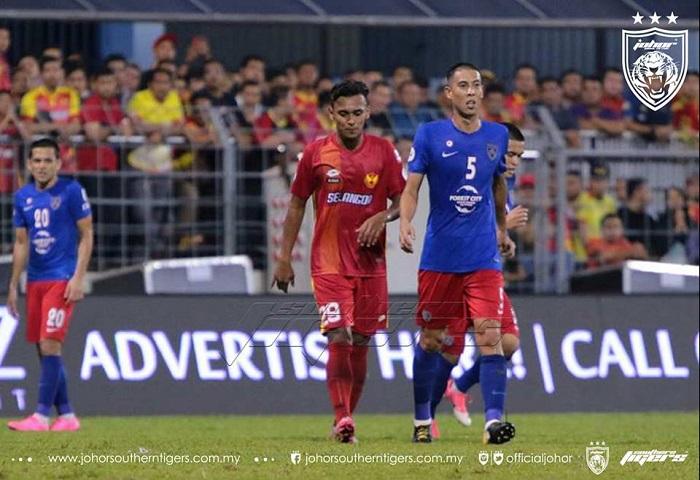 Selangor Vs Jdt Amri Yahyah