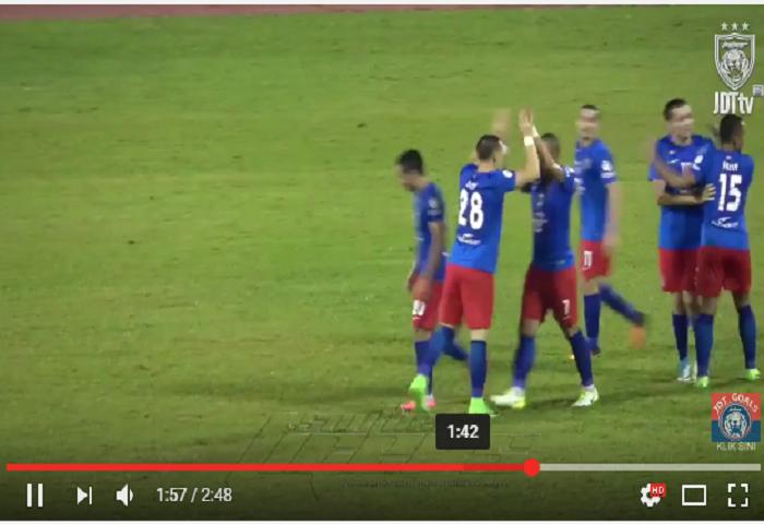 VIDEO RANGKUMAN: Piala Malaysia 2017, Selangor 3 Johor DT 2