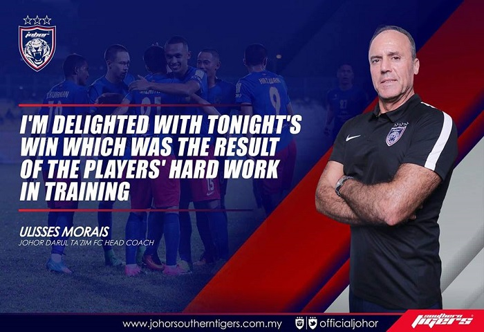 T-team Vs Jdt Morais