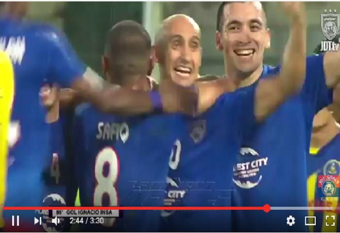 VIDEO RANGKUMAN: Liga Super Ke-15, Pahang 0 Johor DT 2