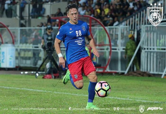 7 Pemain JDT Dipanggil Ke Kem Latihan Pusat Harimau Malaya