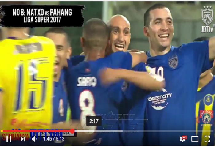 VIDEO Kesemua 23 Gol JDT Dalam Bulan Julai 2017