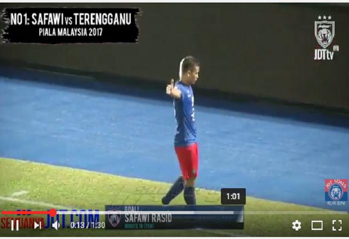 VIDEO Kesemua 6 Gol JDT Dalam Bulan Ogos 2017