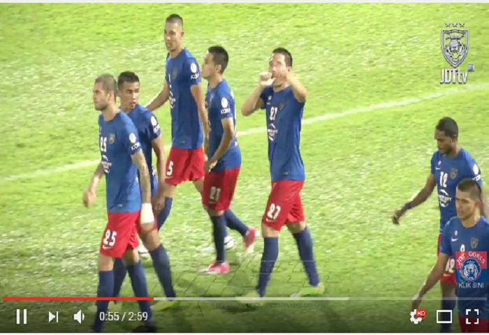 VIDEO RANGKUMAN: Piala Malaysia 2017, Johor DT 5 Terengganu 0
