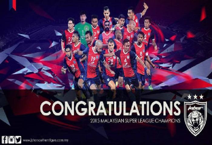 Jdt Juara Liga Super 2015