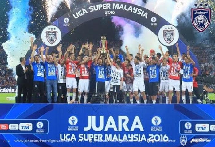Liga Super: Imbas Kembali 3 Perlawanan Pengesahan Kejuaraan JDT 2014, 2015 Dan 2016