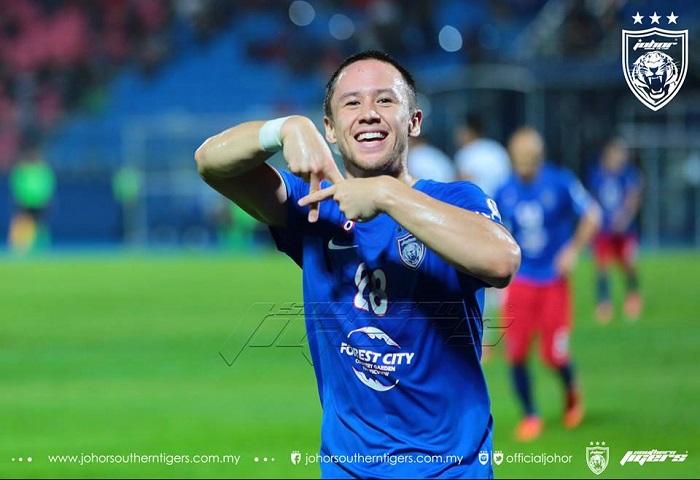 Piala Malaysia 2017 Jdt Vs Terengganu Darren Lok Gol