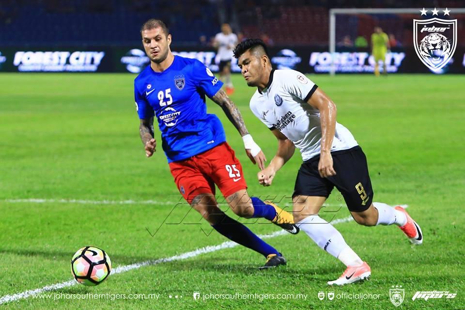 piala malaysia 2017 jdt vs terengganu junior