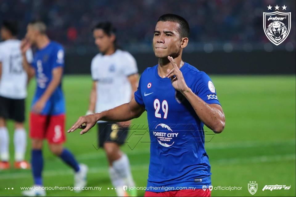 piala malaysia 2017 jdt vs terengganu safawi gol