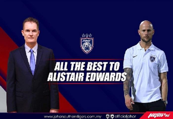 Terima Kasih Alistair Edward, Selamat Bertugas Luciano