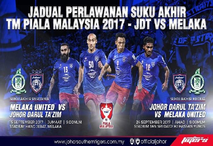 JDT vs Melaka 1