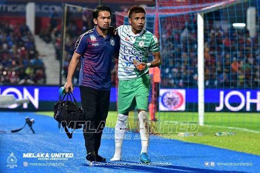 JDT vs Melaka United Azinee Taib