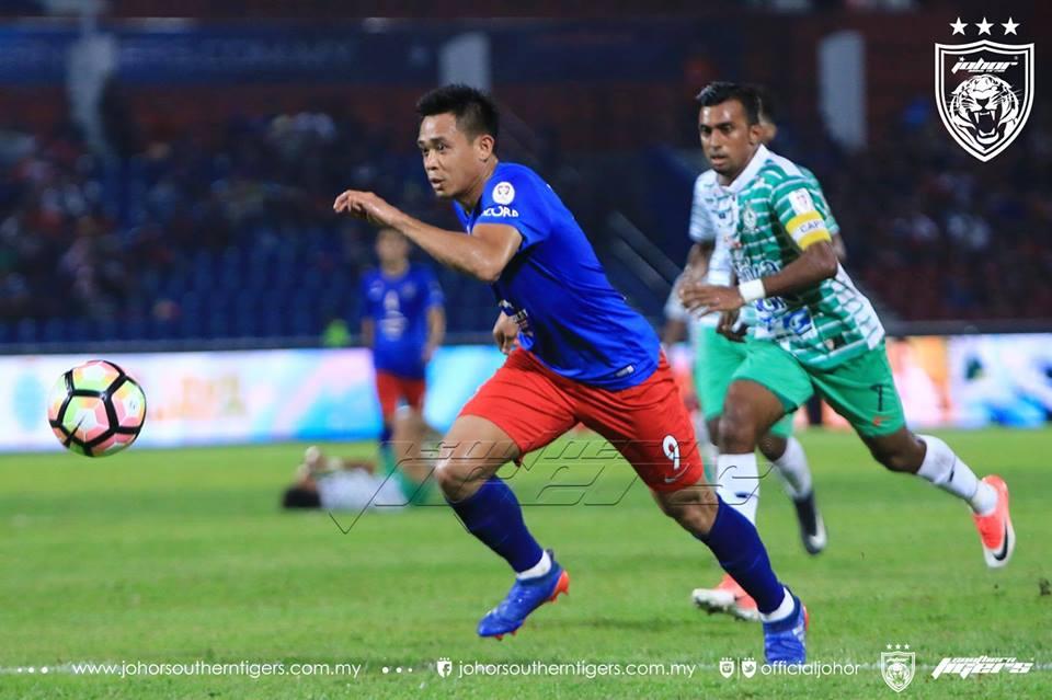JDT vs Melaka United Hazwan Bakri