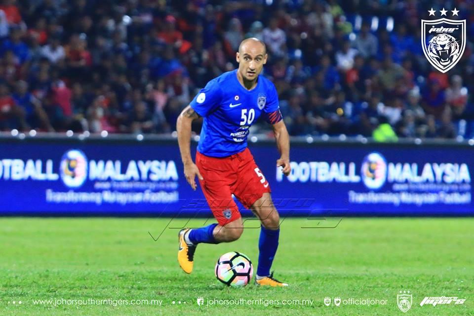 JDT vs Melaka United Natxio Insa