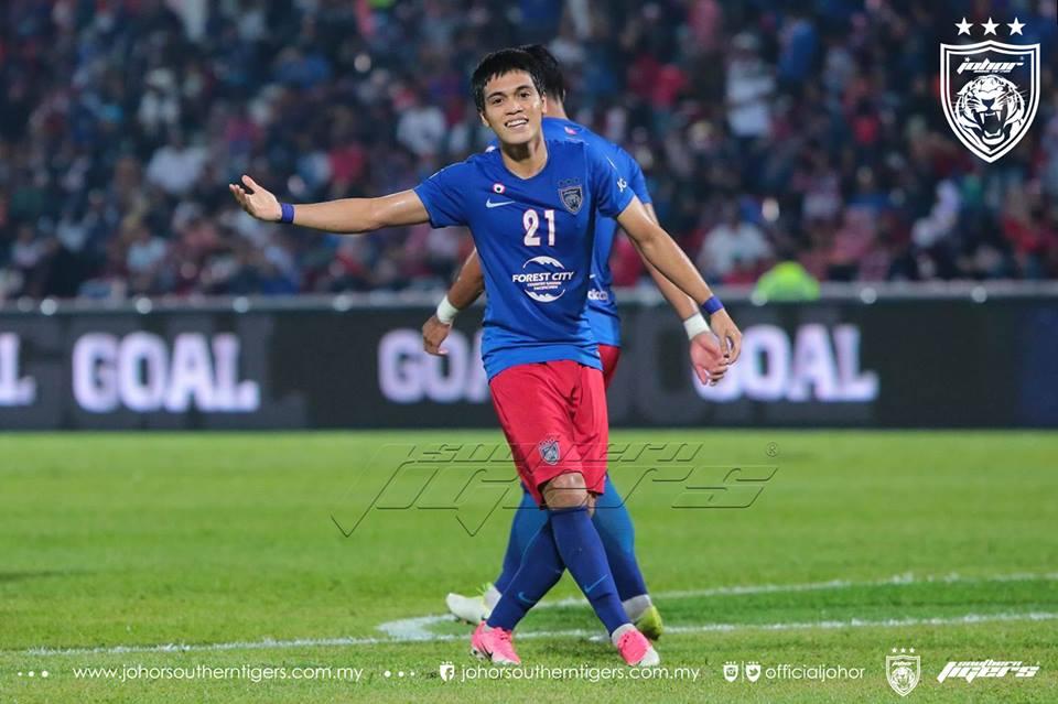 JDT vs Melaka United Nazmi Faiz