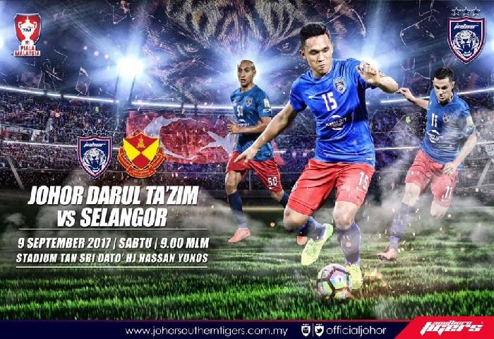 Piala Malaysia : Red Giant Vs Harimau Selatan, Gergasi Mana Yang Tumbang Dulu?