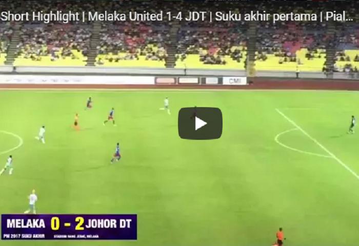 Melaka United 1 Johor Dt 4