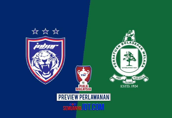 Previu Piala Malaysia 2017: JDT Vs Melaka United, JDT Mahu Meneruskan Perjuangan