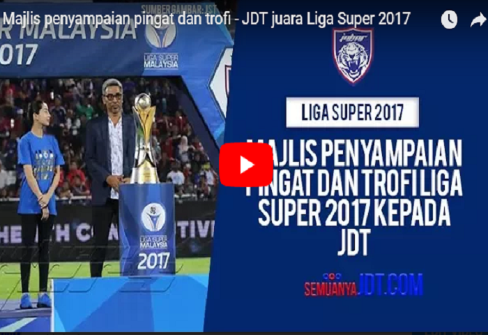 Upacara Trofi Liga Super 2017